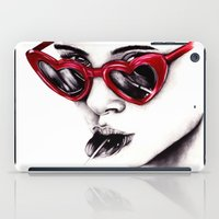 lolita iPad Cases featuring Lolita  by Bella Harris