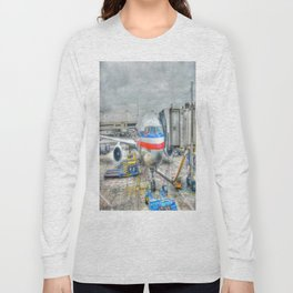 Getting Ready for Takeoff Long Sleeve T-shirt
