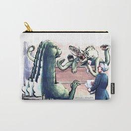 Godzilla v. Biollante Carry-All Pouch