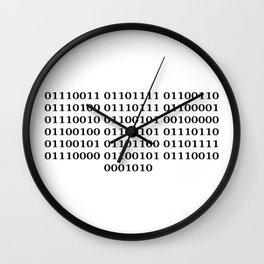 Software developer Wall Clock
