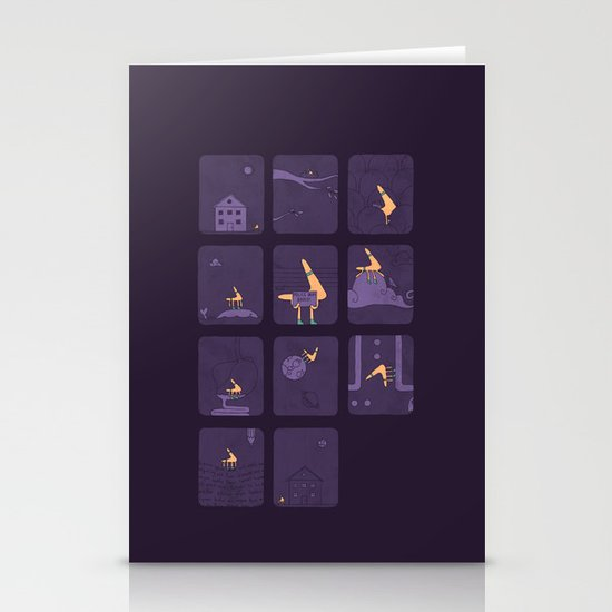 Taking The Long Road Home Stationery Cards