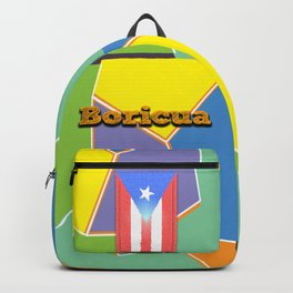 Boricua, Puerto Rico Backpack