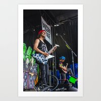 pierce the veil Art Prints featuring Pierce The Veil by Ashton Garner