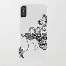 Peacock Love iPhone X Slim Case