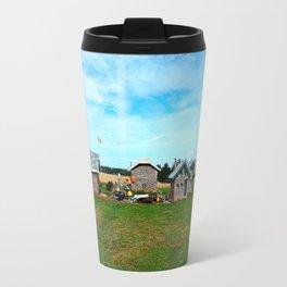 Hannah's Bottle Village Travel Mug