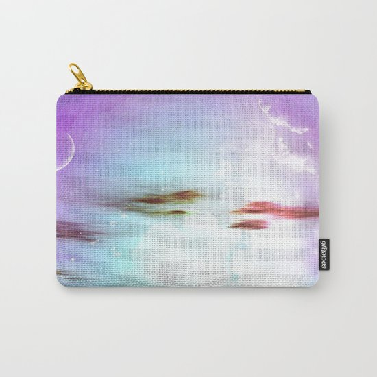 Pastel moon Carry-All Pouch