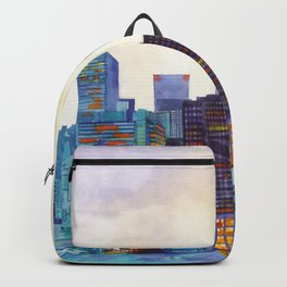 NYC panorama Backpack