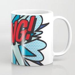 Comic Book Pop Art BANG Coffee Mug