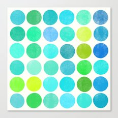 colorplay 10 Canvas Print