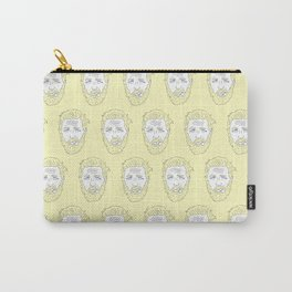 Yellow Hardy Carry-All Pouch