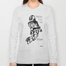 Venture into the Unknown  Long Sleeve T-shirt