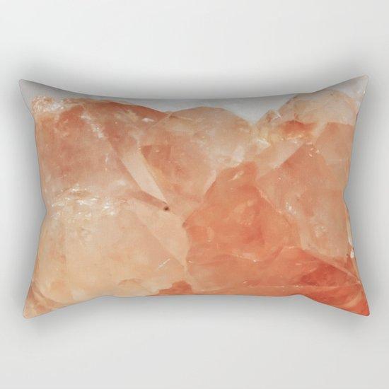 BLOOD ORANGE QUARTZ Rectangular Pillow
