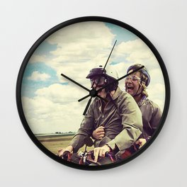 Dumb and Dumber,jim carrey,movie poster,Best Buds  Wall Clock