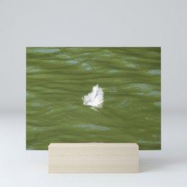 Floating Feather Mini Art Print