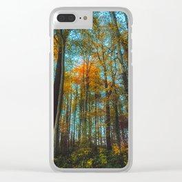 Hello Autumn Clear iPhone Case