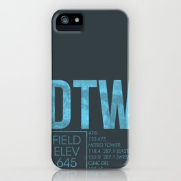 DTW iPhone Case