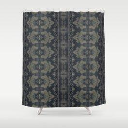 Moody Shibori Shower Curtain