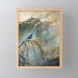 HEAVENLY BIRD II Framed Mini Art Print