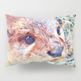 Aquarell Otter Pillow Sham