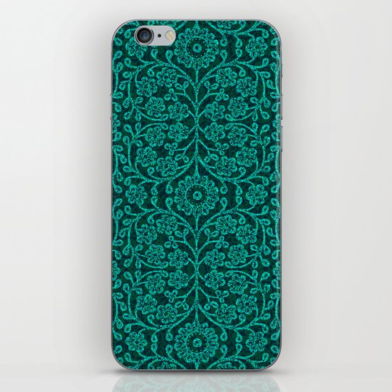 ANCIENT FLORA iPhone & iPod Skin