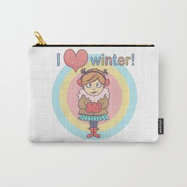 Winter Cutie Carry-All Pouch