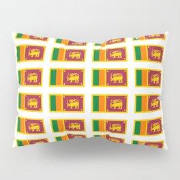 flag of sri lanka- ශ්රී ලංකා,இலங்கை, ceylon,Sri Lankan,Sinhalese,Sinhala,Colombo. Pillow Sham