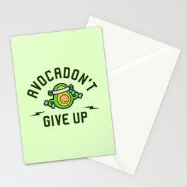 Avocadon't Give Up (Avocado Pun) Stationery Cards