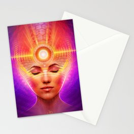Mind Molecular Congruence Stationery Cards