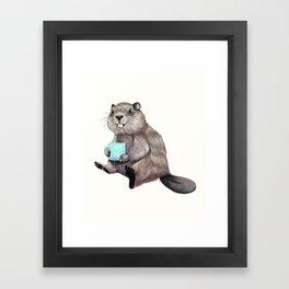 Dam Fine Coffee Framed Art Print