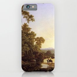 Frederic Edwin Church - Hooker and Company Journeying through the Wilderness from Plymouth to Hartfo iPhone Case