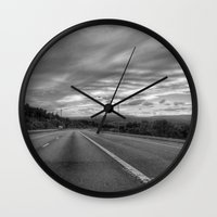 maryland Wall Clocks featuring Maryland by Geni
