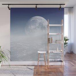 Desert Moon, Blue Sky Wall Mural