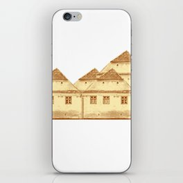 Village houses in Transylvania iPhone Skin