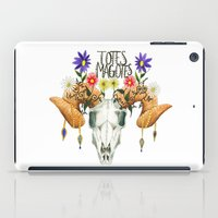 totes iPad Cases featuring Totes Magotes by Ariana Victoria Rose