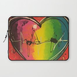 Colorful love Laptop Sleeve