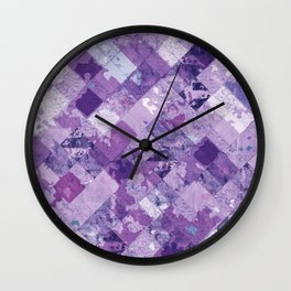 Abstract Geometric Background #30 Wall Clock