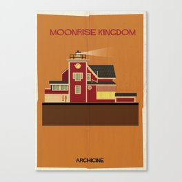Moonrise Kingdom Directed by Wes Anderson Canvas Print