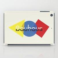 bauhaus iPad Cases featuring Bauhaus by Dennis Wilson