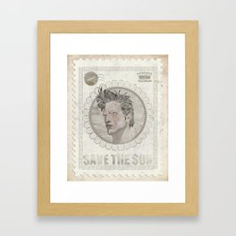 King of Tebas Framed Art Print