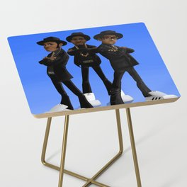 Tougher Than Leather Side Table