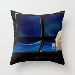 This Seat Reserved But Half Taken Throw Pillow