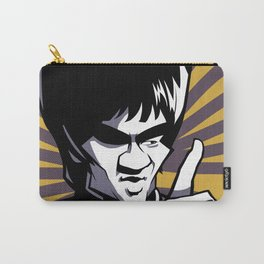 Kung fu master Bruce Carry-All Pouch