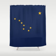 Alaskan Flag Shower Curtain