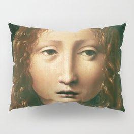 """Leonardo da Vinci """"Head of the Saviour"""" Pillow Sham"""