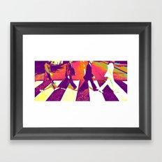 Fantastic Four Framed Art Print