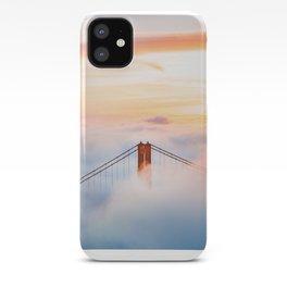 Golden Gate Bridge at Sunrise from Hawk Hill - San Francisco, California iPhone Case