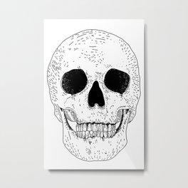 Super Skull Metal Print