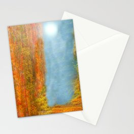 Colorful Woodlands Stationery Cards