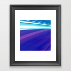 Between The Sea And The Sky Framed Art Print
