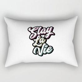 Slay La Vie (C'est la Vie) Rectangular Pillow